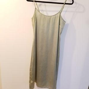 ASOS Dresses - ASOS Floral Poppy Print Sheer Dress with Slip